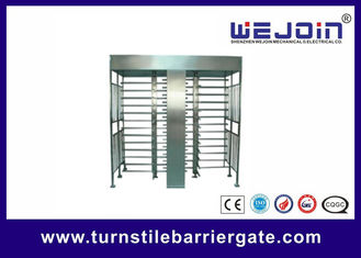China Full Height Access Control Turnstile Gate for IC , ID , magcard ,bar code fábrica