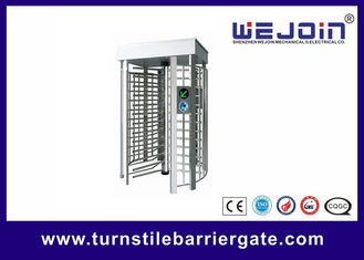 China Pedestrian Full Height Access Control Turnstile Gate Digital Transmission With PC Control fábrica