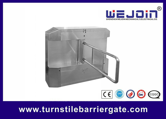 China Acrylic plate Arm Turnstile Entry Swing Barrier Gate Systems With Dry Contact Interface fábrica