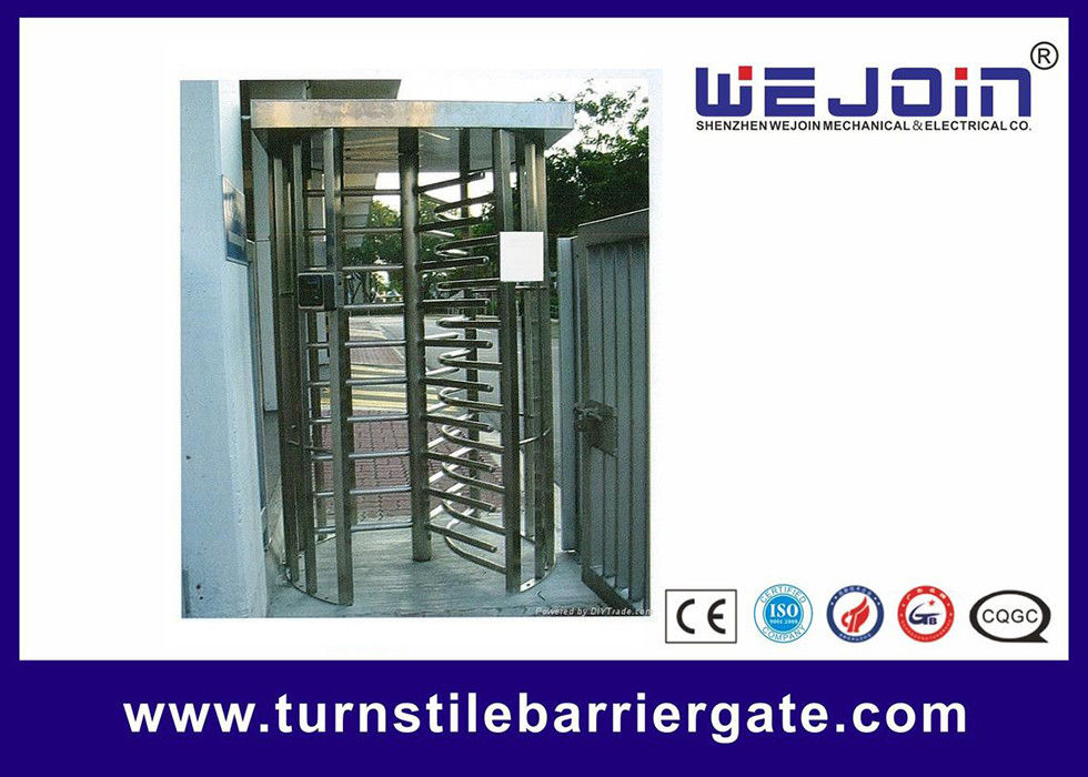 304 / 201 Stainless Steel Smart Card Access Control Turnstile Gate proveedor