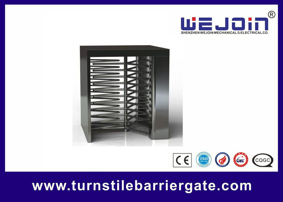 Counter Full Height Turnstiles pedestrian barrier gate With Control Panel proveedor