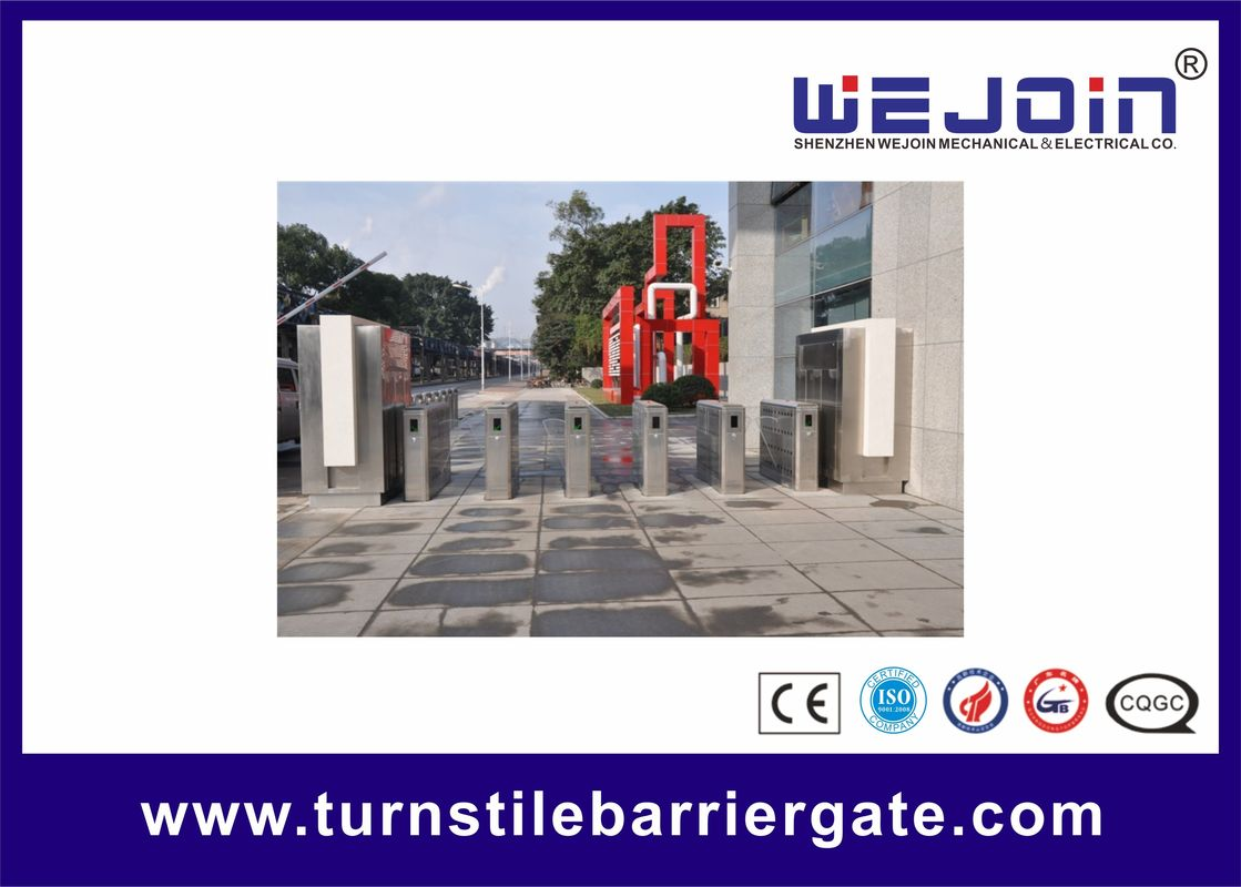 Best Selling Full-Automatic Flap Barrier Gate With lighten Wing And Smart Design proveedor