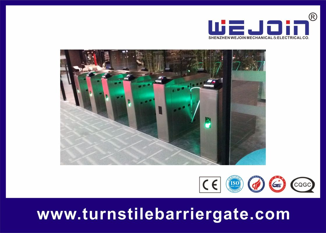 Pop Full-Automatic Flap Barrier Used In Subway And Bus Station With lighten Wing proveedor